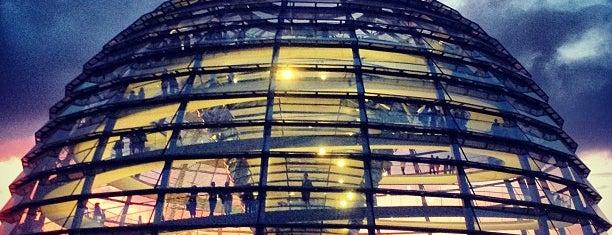 Cúpula del Reichstag is one of Berlin.