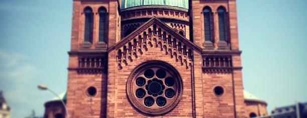Église Saint-Pierre-le-Jeune is one of Strasbourg.