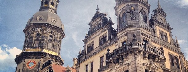 Residenzschloss is one of Dresden.