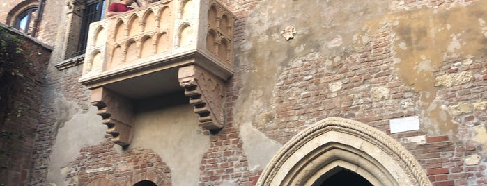 Balcony of Romeo and Juliet is one of ITALY all around.