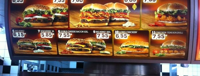 Burger King is one of Lugares favoritos de Moisés.