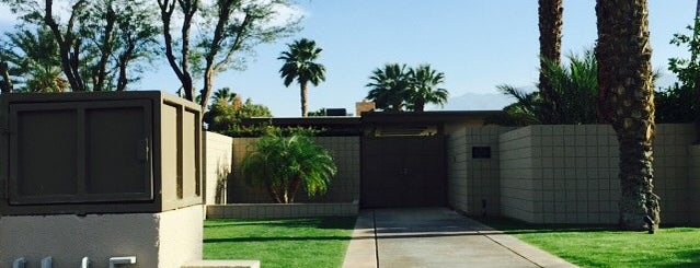 Twin Palms, Frank Sinatra House is one of Palm Springs.