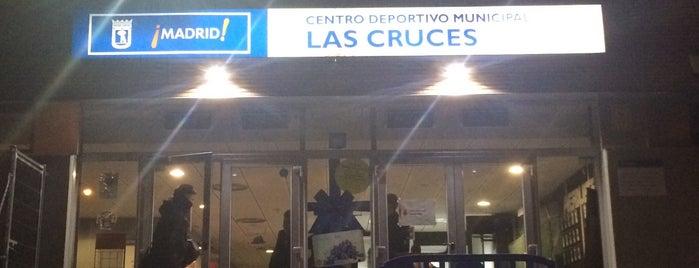 Centro Deportivo Municipal Las Cruces is one of Jugar al Ping-Pong en Madrid.