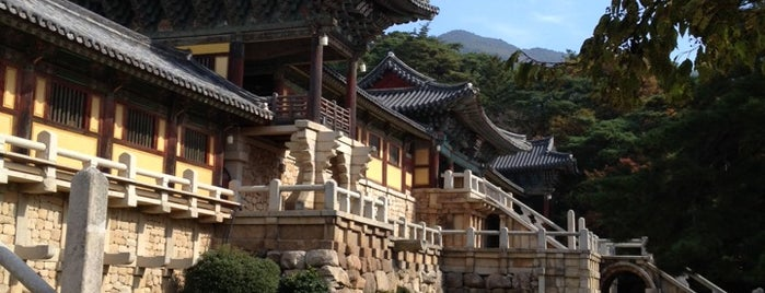 Bulguksa is one of Gyeongju.