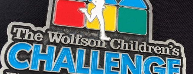 Wolfsons Children's Challenge is one of Kevin : понравившиеся места.