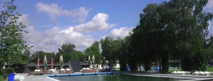 Kupalisko Topolniky is one of Tempat yang Disukai Fruzsi.