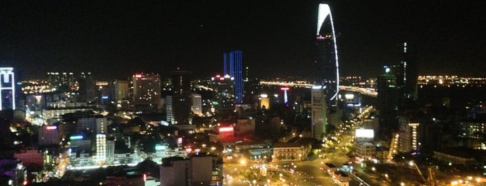 Chill Skybar is one of Night view in Asia.