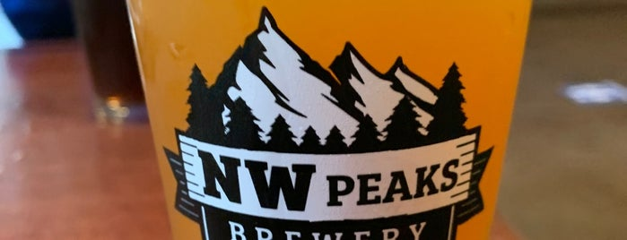 NW Peaks Brewery is one of Places to drink.
