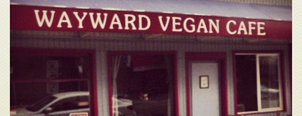 Wayward Vegan Cafe is one of Seattle 💙.