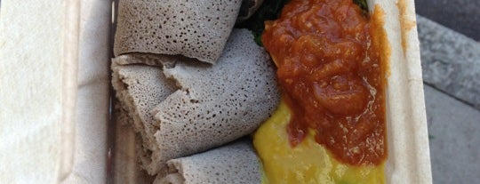 Eji's Ethiopian is one of Vegan Friendly.