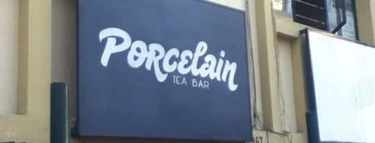Porcelain Tea Bar is one of Being here.