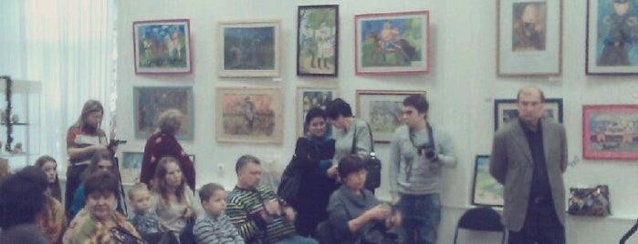 Галерея на Песчаной is one of Халявные музеи Москвы.