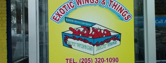 Exotic Wings and things -Greensprings is one of Lugares favoritos de Latonia.