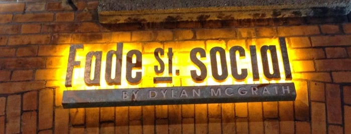 Fade St. Social is one of Ireland.