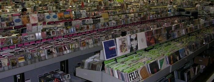Amoeba Music is one of 100 Cheap Date Ideas in LA.