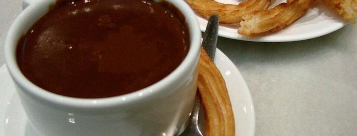 Chocolatería San Ginés is one of Lugares para volver siempre.