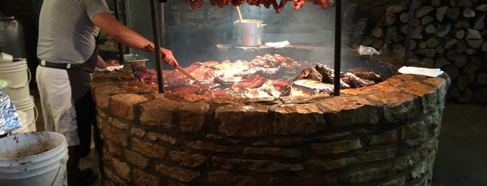 The Salt Lick is one of TV Food Spots: Austin Metro Area.