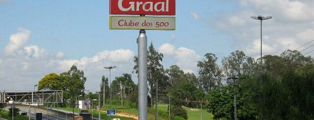 Graal Clube dos 500 is one of Locais curtidos por Marcela.