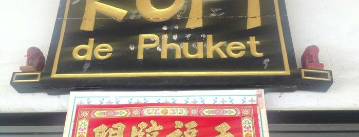Kopi de Phuket is one of Phuket.