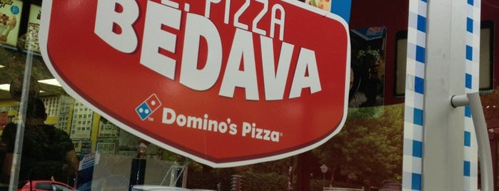 Domino's Pizza is one of my love Ankara.