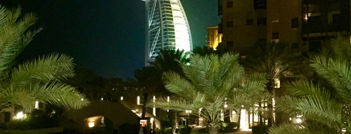 Madinat Jumeirah is one of Orte, die Cristi gefallen.