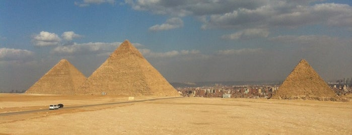 Great Pyramids of Giza is one of Before the Earth swallows me....