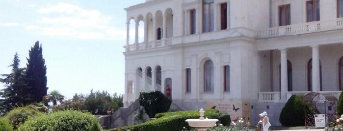 Ливадийский дворец / Livadia Palace is one of Crimea.