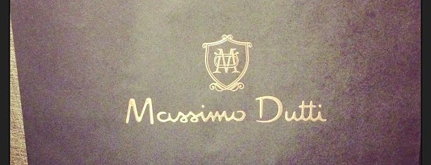 Massimo Dutti is one of Lieux qui ont plu à Thomas.
