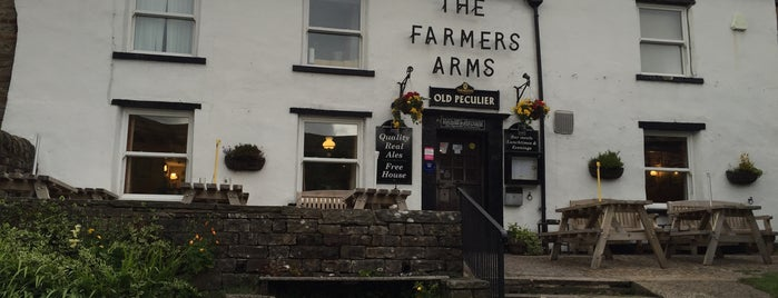 The Farmers Arms is one of Welcome to Yorkshire Ale Trail.