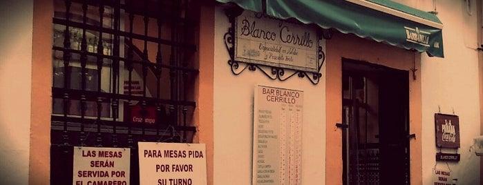 Bodeguita Blanco Cerrillo is one of Sevilla.