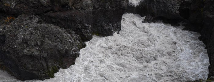 Barnafoss is one of Iceland.