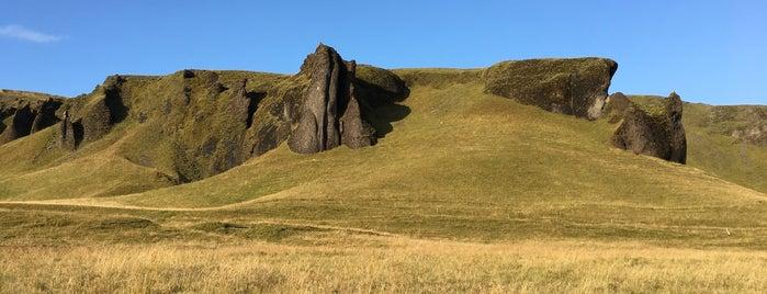 Kirkjugólfið is one of Iceland.