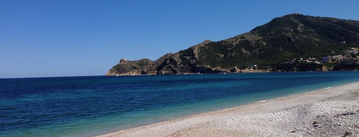 Playa Cap Blanc / L'Albir is one of Orte, die Jose gefallen.