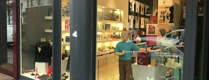 The Tintin Shop is one of This could be uth.