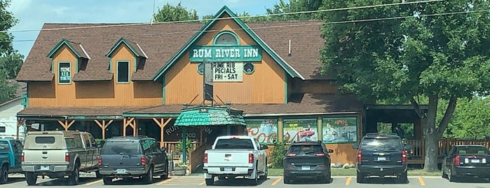 Rum River Inn is one of Best Pizza (pie in the sky).