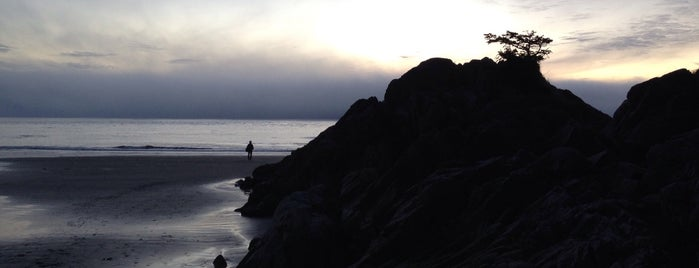 Tonquin Beach is one of West Van Island.