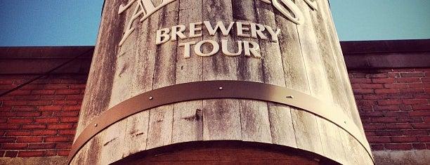 Samuel Adams Brewery is one of Boston.