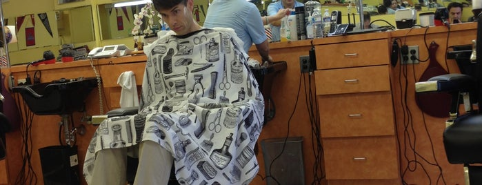 Camillo Barber Shop is one of DC.