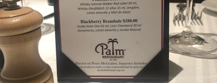 The Palm is one of Df Steakhouse, Internacional.