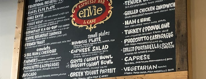 Envie Espresso Bar & Cafe is one of Chip : понравившиеся места.