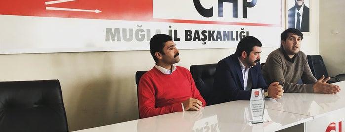 Chp Muğla Merkez İl Başkanlığı Binası is one of gezmece.
