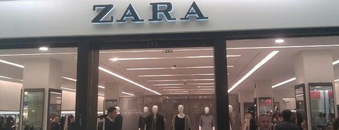 Zara is one of Shopping.