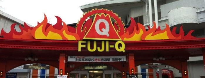 Fuji-Q Highland is one of Locais curtidos por MK.