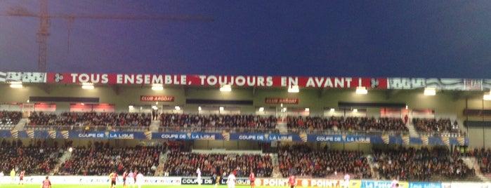 Stade du Roudourou is one of Posti che sono piaciuti a Erwan.
