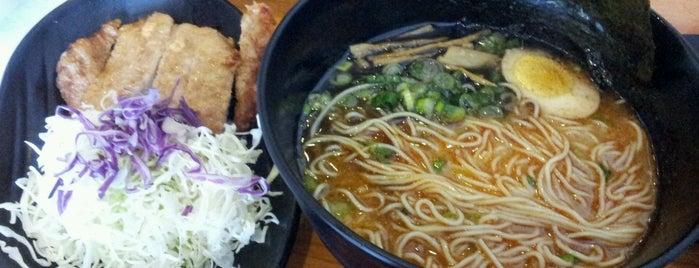 Ramen Yamadaya is one of David & Dana's LA BAR & EATS!.