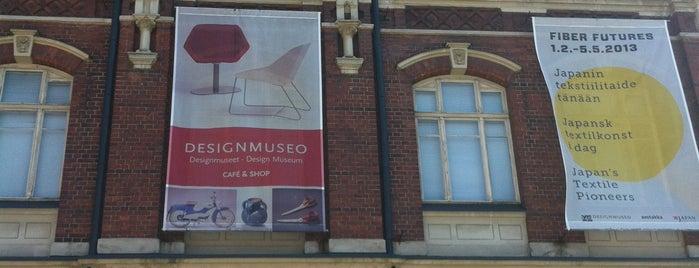 Designmuseo is one of Достопримечательности Финляндии.