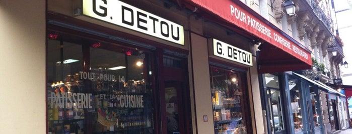 G. Detou is one of Paris.