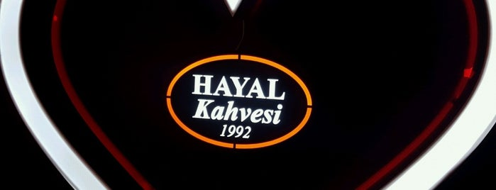 Hayal Kahvesi Bahçeşehir is one of Lugares favoritos de Serhat.