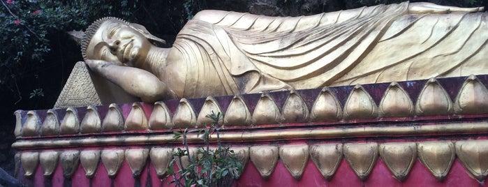 Mount Phusi is one of Laos.