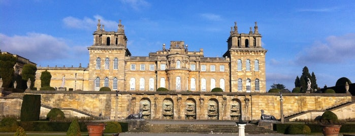 Blenheim Palace is one of oxf.